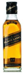 Johnnie Walker Scotch Black Label 12 Year 200ml